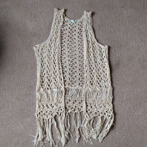 Maurices open knit cardigan